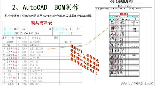 AutoCAD配合UG完成模具設計全流程工作 - 每日頭條
