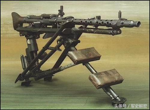 二戰名槍縱覽:人肉收割機,德國MG34/42通用機槍 - 每日頭條