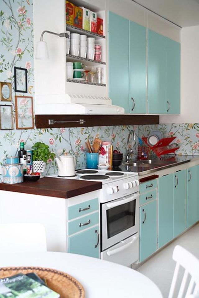 廚房可以貼壁紙嗎?我家裝修好後才知道腸子都悔青了! - 每日頭條