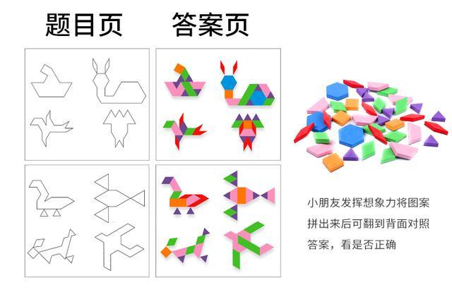 磁性拼圖七巧板內部的「絕密」 - 每日頭條