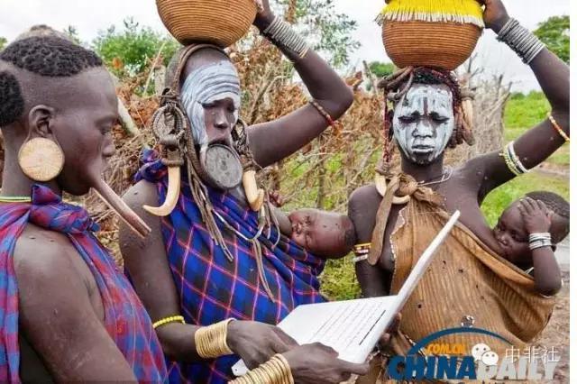 非洲土著人的現代生活 - 每日頭條