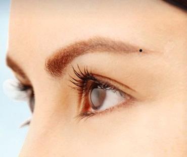 左眼眉尾長黑痣的人意味什麼運勢? - 每日頭條