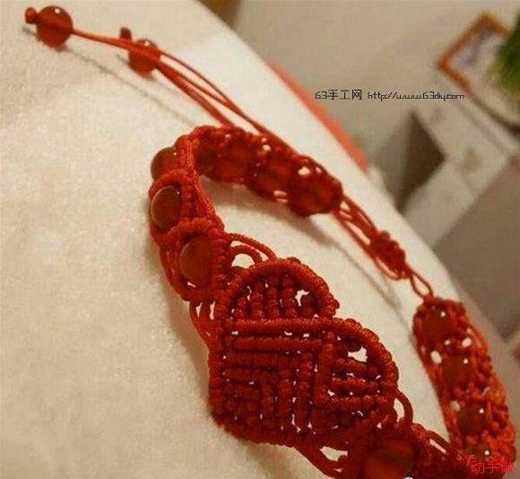 動手做教你怎樣編織紅繩手鍊 - 每日頭條
