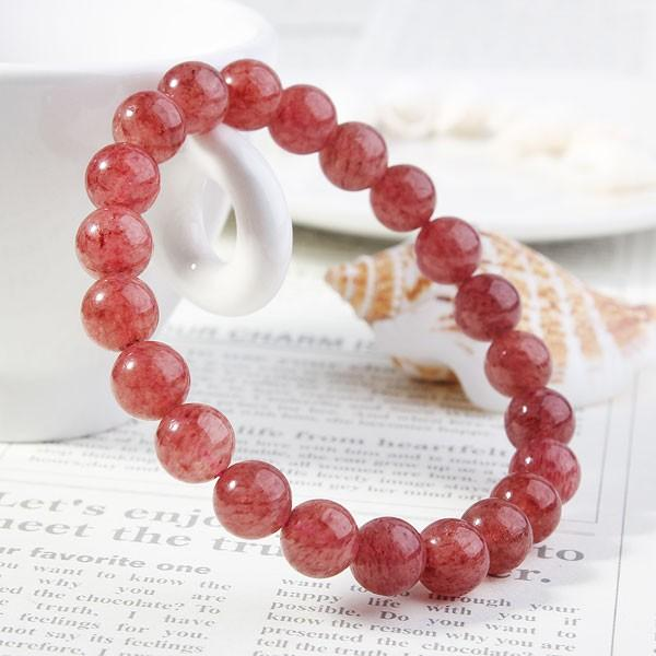 草莓晶的功效與作用是什麼?草莓晶手鍊有哪些佩戴禁忌 - 每日頭條