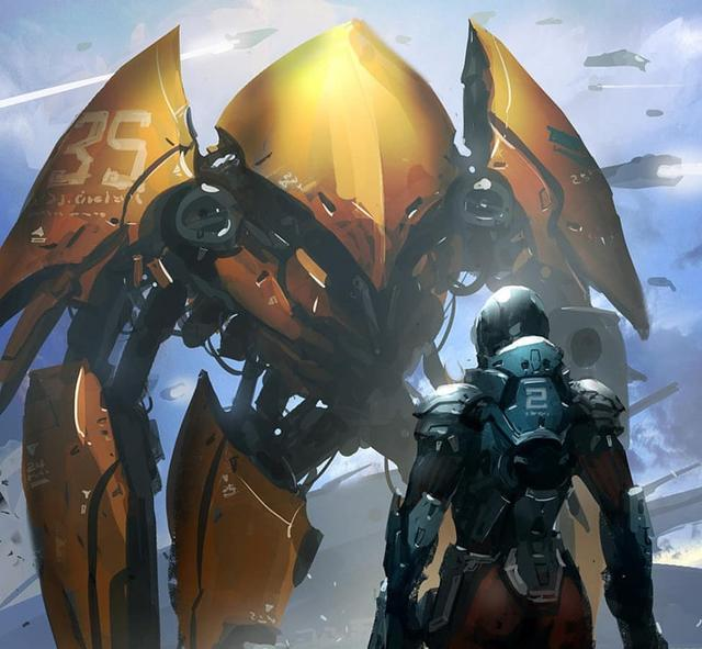 未來科幻戰爭中的機器人與炫酷的機甲 - 每日頭條