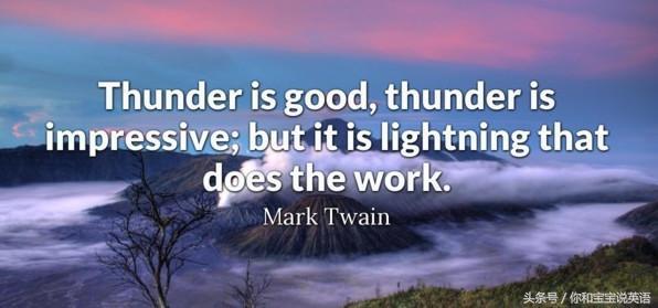 關於「風雨雷電」的英文(三),打雷了,打閃了,英語怎麼說? - 每日頭條