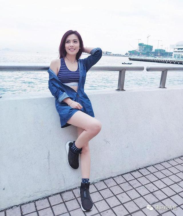 香港美女明星藝人阿旦-鄧伊玲ElaineTang最新ins社交媒體個人照片 - 每日頭條