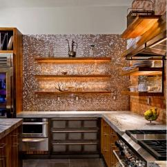 Travertine Kitchen Backsplash Wall Art For The 厨房地板用哪种材料好 不懂的就快看看吧 每日头条 2 瓷砖