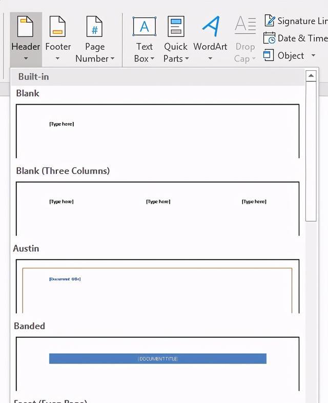 word中如何使用頁眉和頁腳?word頁眉和頁腳怎麼設置使用 - 每日頭條