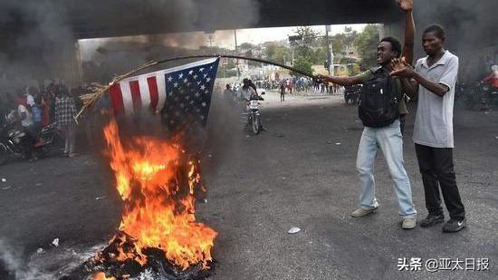 曾被川普稱為「糞坑」的海地怒了:「美國去死 普京萬歲」! - 每日頭條