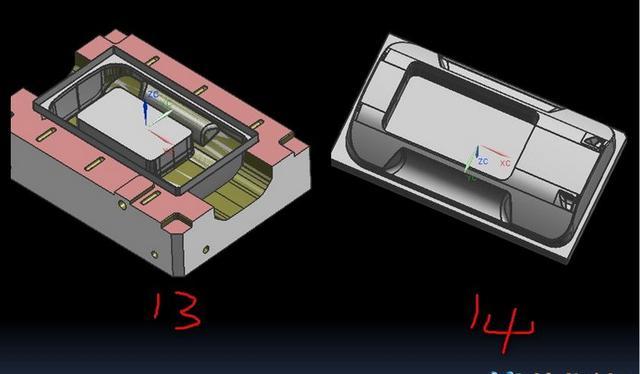 ug模具設計之機殼模前模大電極的拆法 - 每日頭條