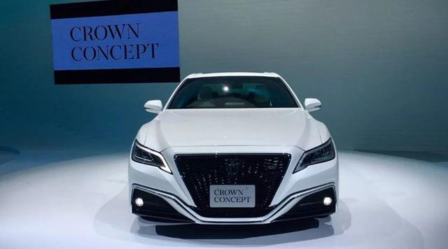 豐田皇冠全新2021款日本下線。底盤自由升降。外觀大氣磅礴 - 每日頭條