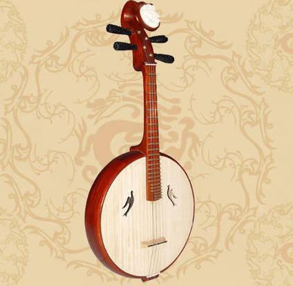 藝術-中國傳統樂器 · 中阮 - 每日頭條