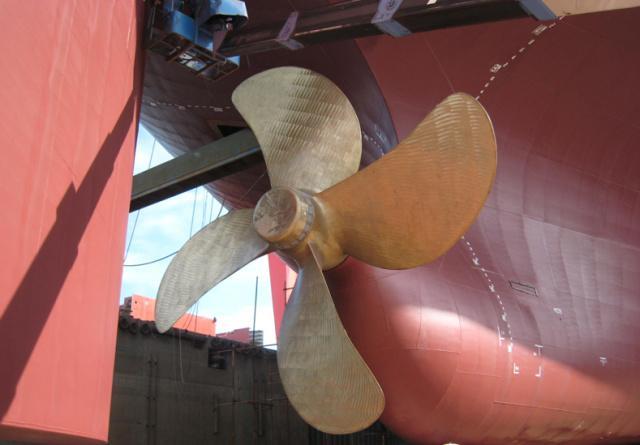 「加油,船配!」世界最大直徑螺旋槳made in China! - 每日頭條