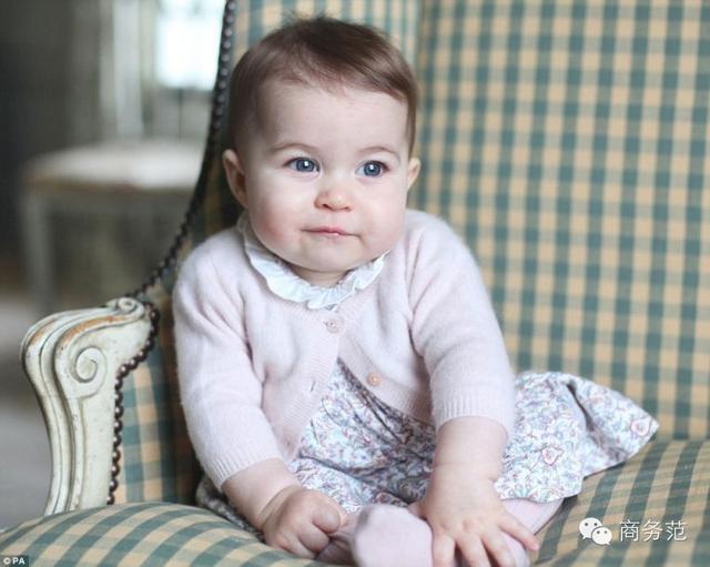 夏洛特公主最新萌照,像凱特更像女王! - 每日頭條