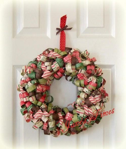 用衣架,廁紙圈做環保聖誕花環 - 每日頭條