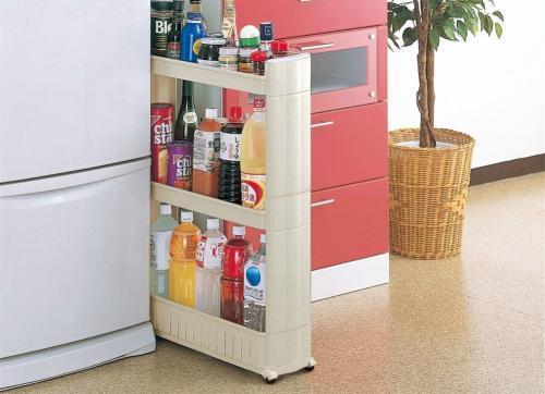 small kitchen carts salvaged cabinets for sale 会生活的人厨房都有一台小推车 每日头条 亦或者吃火锅的时候 台面不够放 然后边吃边跑去厨房拿材料 其实 这些麻烦只需要一台厨房的小推车就可以解决
