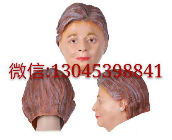 萬品乳膠製品廠生產美國總統候選人面具 - 每日頭條