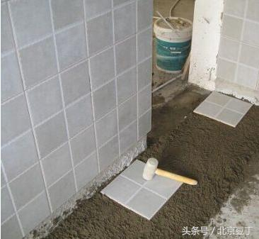 新房裝修是先貼地磚好還是先貼牆磚好。看完才知道我家做對了! - 每日頭條