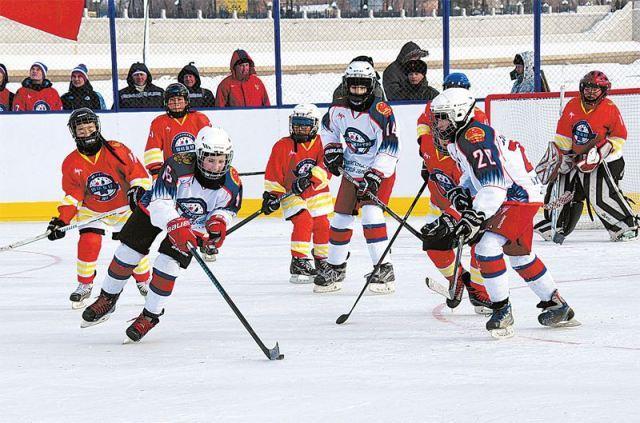 冰球賽中俄場上PK 中國少年不輸戰鬥民族 - 每日頭條