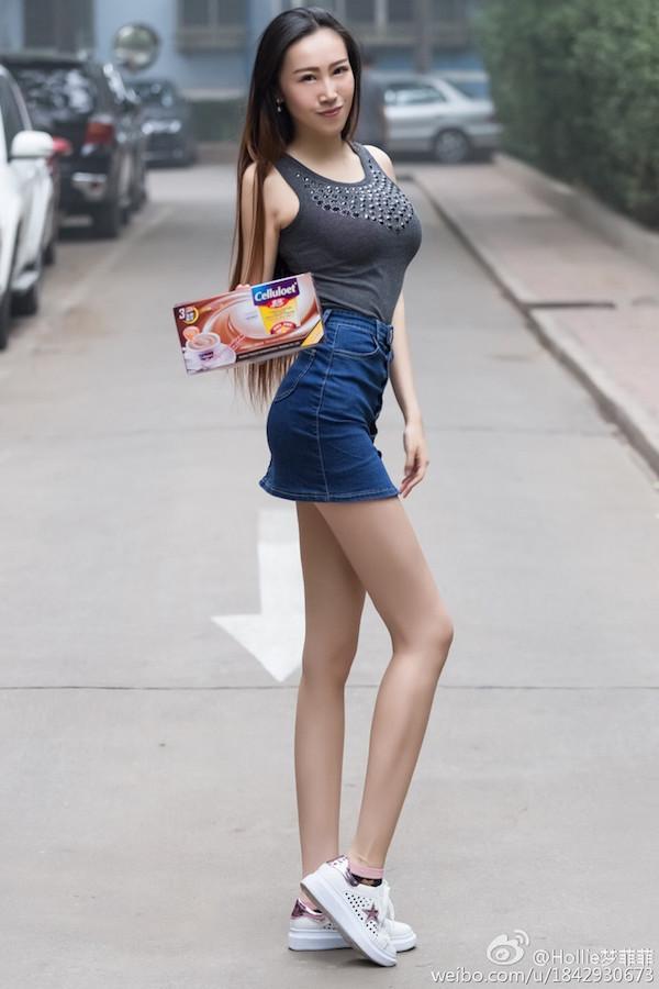 背影很美的牛仔短裙美女(推薦) - 每日頭條