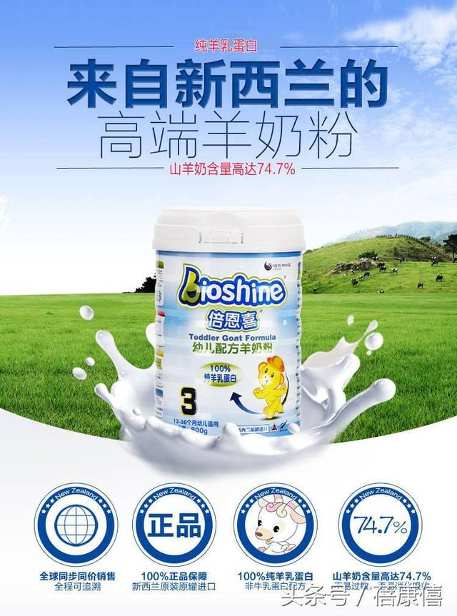 羊奶行業大數據分析:到底哪些品牌是純羊? - 每日頭條