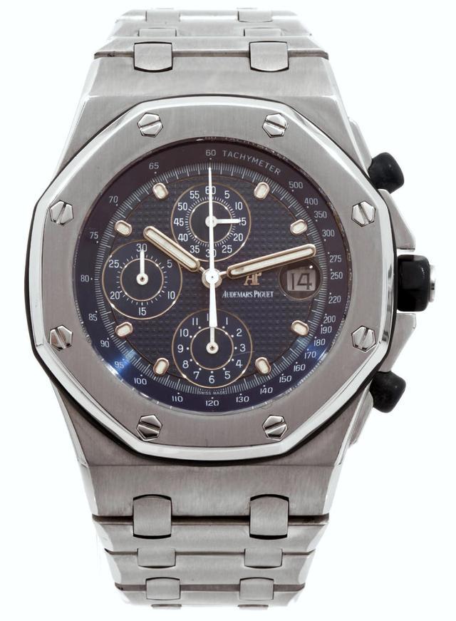 Audemars Piguet皇家橡樹離岸陀飛輪計時碼錶25周年紀念手錶 - 每日頭條