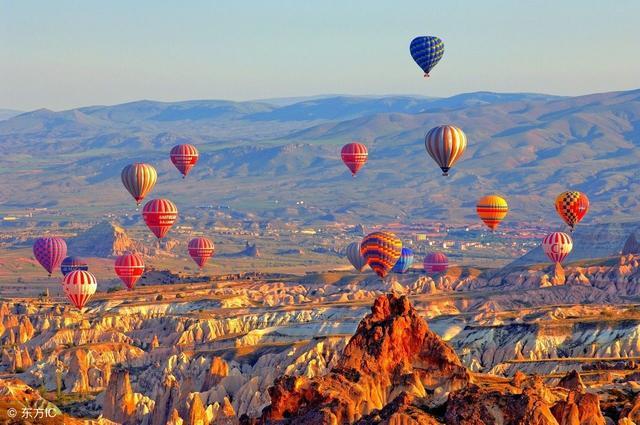 土耳其的熱氣球,究竟有多浪漫! - 每日頭條