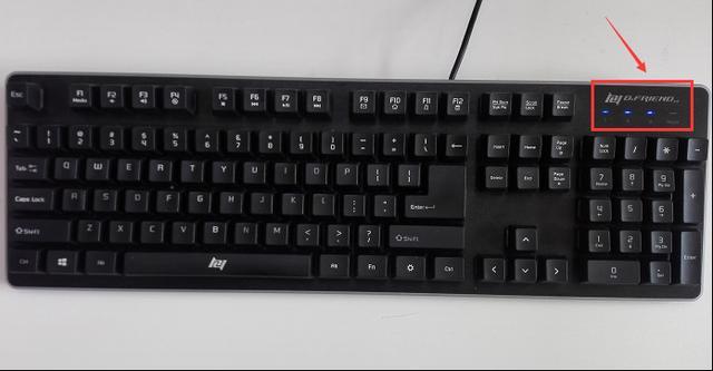 B.FRIENDit:鍵盤上三個指示燈分別有什麼作用? - 每日頭條