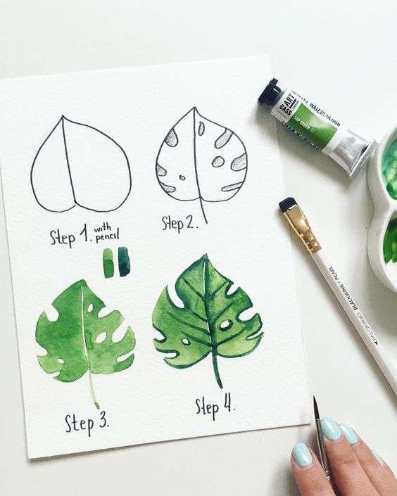 想學水彩的同學看過來,4步教你學會學會畫水彩畫 - 每日頭條
