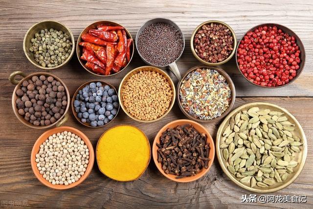 廚師長教你辨別香料。介紹6種常見香辛料的用途及屬性。趕快收藏 - 每日頭條