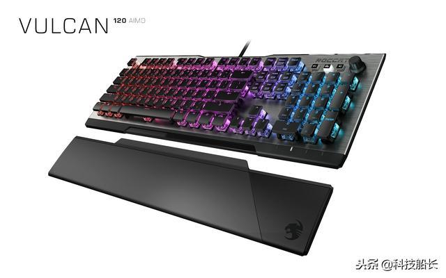 泰坦軸迅捷精準!冰豹推出全新瓦肯Vulcan機械鍵盤 - 每日頭條