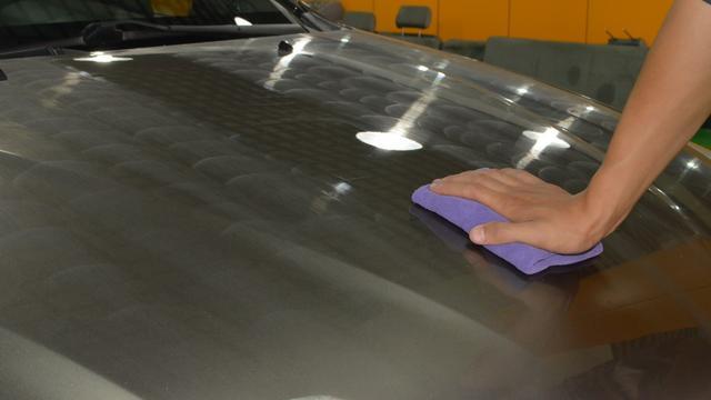汽車漆面保養從打蠟開始。標準打蠟施工流程 - 每日頭條