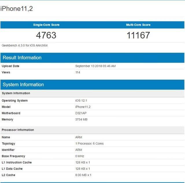 36萬分!iPhone XS安兔兔跑分曝光。秒殺友商產品 - 每日頭條