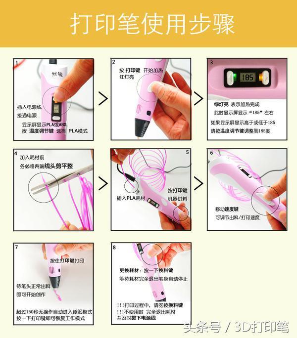 3D塗鴉筆,用畫筆還原一個立體的世界 - 每日頭條