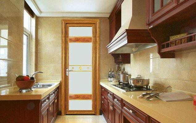 家居設計 丨廚房。用推拉門好還是平開門好? - 每日頭條