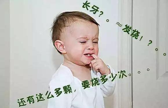 原來如此!寶寶長牙期間發燒居然是這麼回事 - 每日頭條