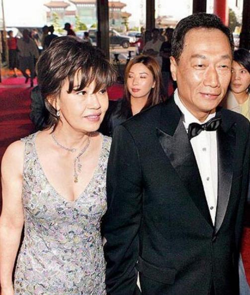 妻子林淑如剛過世3個月,富士康老總郭臺銘就娶了小原配24的嫩妻 - 每日頭條