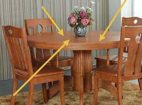 家裡裝修飯桌買圓的還是方的好?若不是風水師說。差點買錯了 - 每日頭條