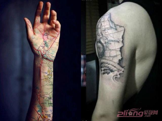 風格多樣的男手臂紋身欣賞 - 每日頭條