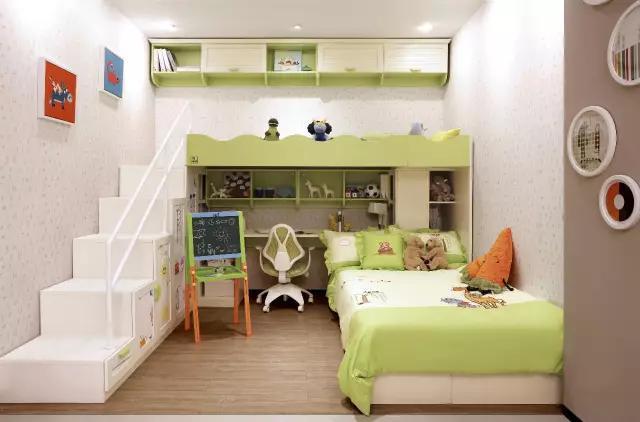 小戶型必備 20款兒童房設計。空間瞬增N平方! - 每日頭條