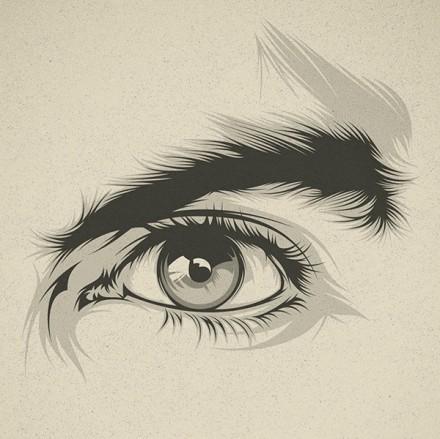 別具一格的獨特眼睛畫法丨作者:西班牙插畫師Cranio Ds - 每日頭條