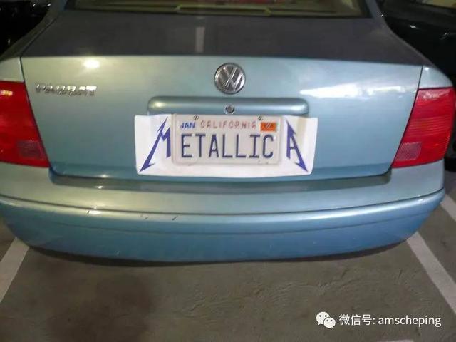車牌在中國僅是一塊鐵皮。而在美國卻是藝術品 - 每日頭條