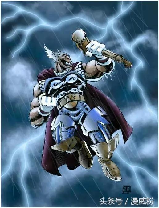 漫威宇宙另一個雷神?他的實力遠超綠巨人和銀影俠! - 每日頭條