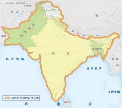 印度為什麼不如中國?因為它失去了「新疆」、「寧夏」和「緬甸」! - 每日頭條