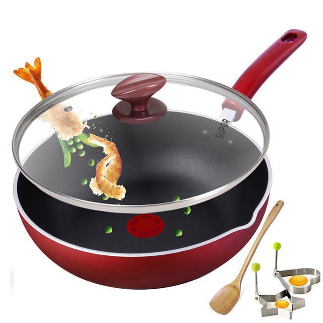 煎炒兩用鍋。油煙少不粘鍋。省心省事 - 每日頭條