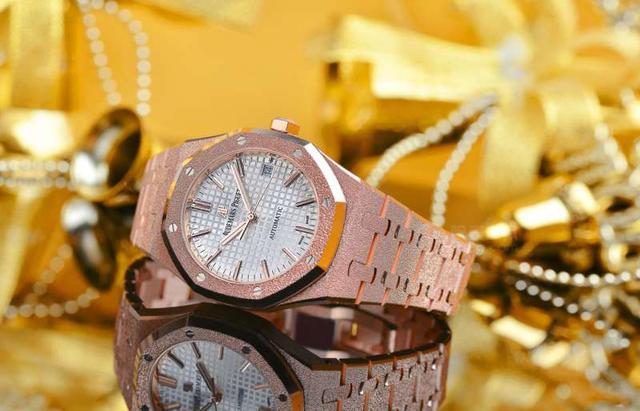 璀璨奪目 愛彼皇家橡樹系列FROSTED GOLD女裝腕錶玫瑰金款 - 每日頭條