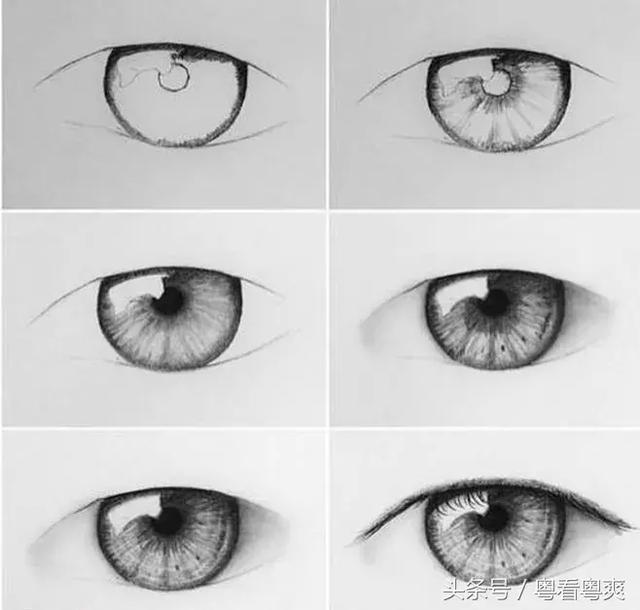 聽說眼睛最難畫?各種眼睛繪畫技法全部告訴你 - 每日頭條