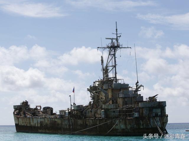 南沙仁愛礁最新高清衛星照曝光 - 每日頭條