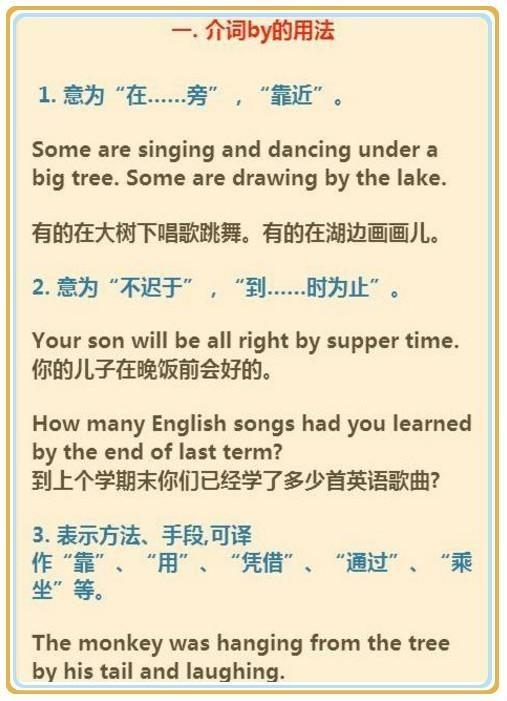 英語老師:整個初中語法知識全在這兒。孩子「吃透」成績突飛猛進 - 每日頭條